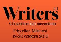 Writers #1. Gli scrittori si raccontano